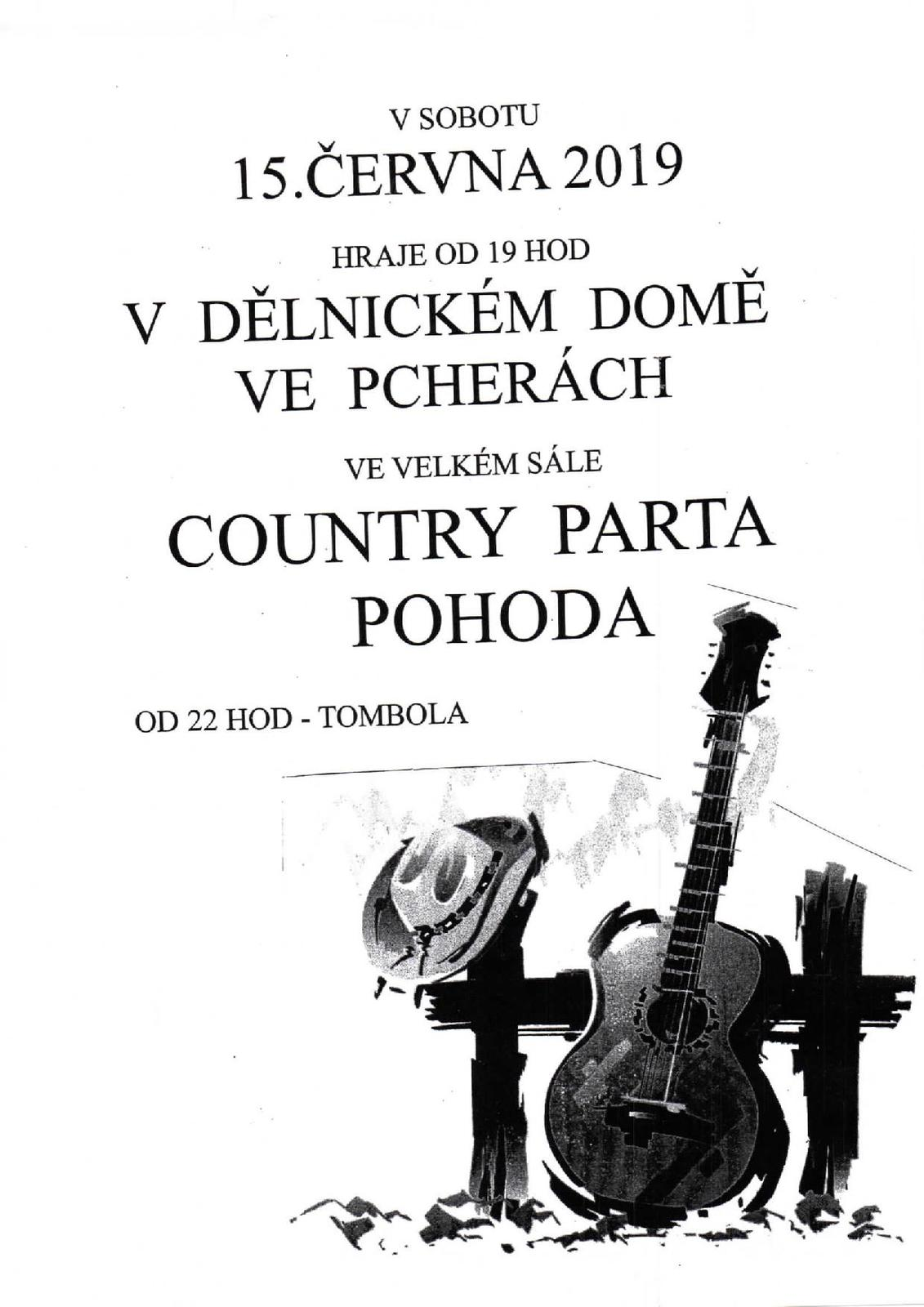 Country parta pohoda